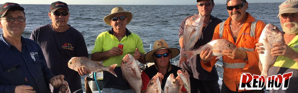 Catch Snapper in Port Phillip Bay