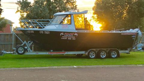 FISHING CHARTERS MELBOURNE CARRUM PORTLAND MORNINGTON
